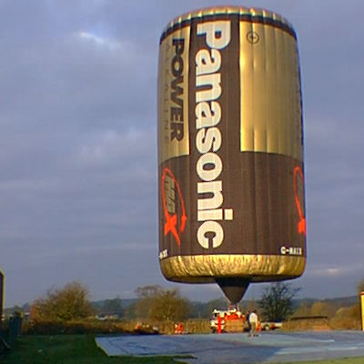 Call From A Different Number >> Hot Air Balloon Aerial Advertising Special Shapes